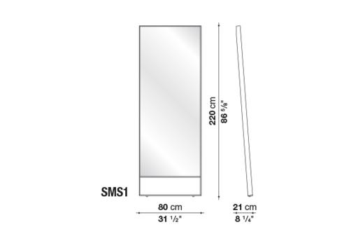 B&BM00220000001-Maxalto-PSICHE-Dimensions