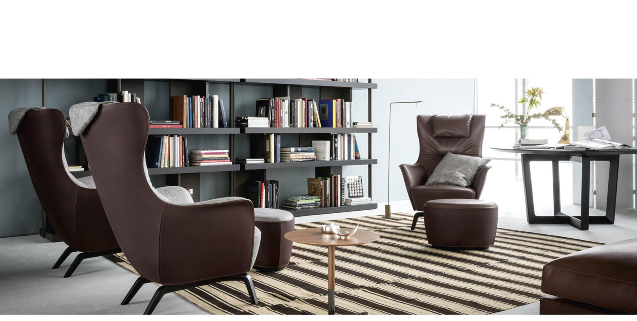 mamy blue puff poltrona frau eurasia concept. Black Bedroom Furniture Sets. Home Design Ideas