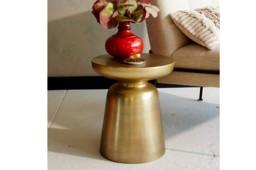 Venosa Gold Side Table