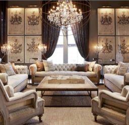 Các loại ghế đẹp cao cấp phù hợp cho biệt thự