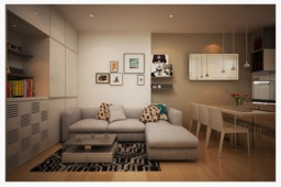 Bí quyết chọn nội thất hiện đại cho căn hộ nhỏ