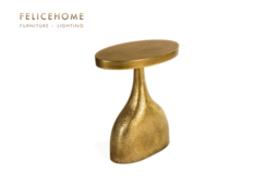 Jasper Gold Side Table