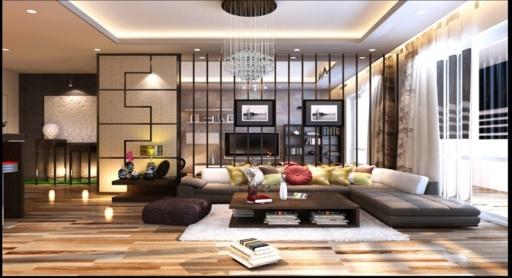 Thiết kế nội thất biệt thự cao cấp ở quận 2