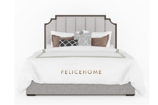 Giường ngủ Raffine 03A với những đường nét tỉ mỉ phù hợp cho không gian cao cấp hiện đại