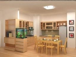 Thiết kế nội thất phong thủy cho nhà bếp hiện đại