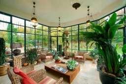 Trang trí nội thất căn hộ hiện đại gần gũi với thiên nhiên