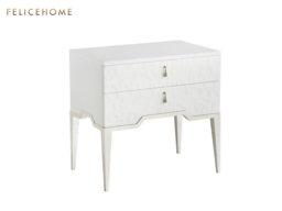 Raised Veneer nightstand