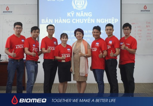 BIOMEQ cooperate with PIT for professional sales skill training