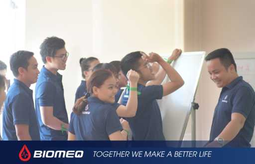 BIOMEQ organized the brand positioning workshop