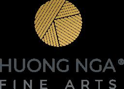 Huong Nga Fine Arts Trademark - Logo Dark