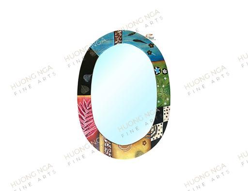 Gương oval