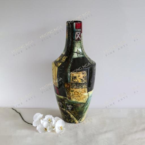 Vase H-71 cm (27.95 inches)